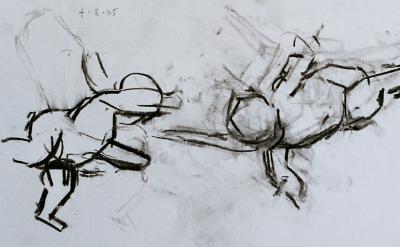 (detail) Robert Dukes, after Veronese (courtesy of the artist)