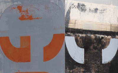 (detail) Brian Dupont, Godot, 2011. Oil on aluminum. 18 x 6 x 6 inches (courtesy
