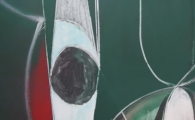 (detail) Painting by Jason Duval (screengrab: Gorky's Granddaughter)