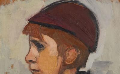 (detail) Joan Eardley, Boy's Head (© Estate of the Artist. Image: Crown Copyrigh
