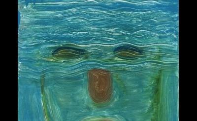 (detail) Nicole Eisenman, Untitled, 2012, Monotype on paper, 24 3/8 × 18 3/4 inc