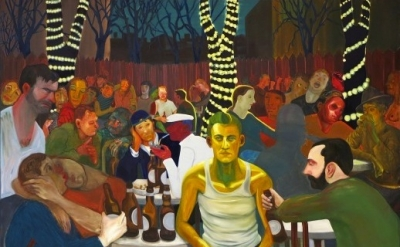 Nicole Eisenman, Beer Garden with Ash, 2009 (courtesy the artist, photo: Contemp