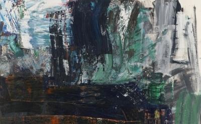 (detail) Louise Fishman, Zero at the Bone, 2010, oil on linen (courtesy Cheim &