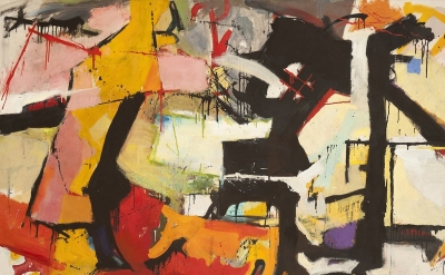 Audrey Flack, Abstract Force: Homage to Franz Kline, 1951–52  (courtesy of Holli