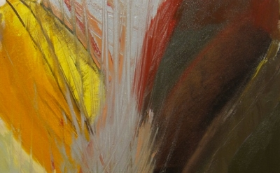 (detail) Alison Fox, Everyone's Butterfly, 2012, oil on canvas, 20 x 18 inches (