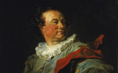 (detail)  Jean-Honoré Fragonard, François-Henri, Duke of Harcourt, 1769, Oil on