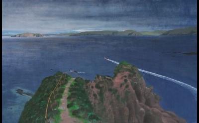 Frances Walker, Leaving Roan, oil on wood panel, 126 x 189 cm (courtesy of Tatha