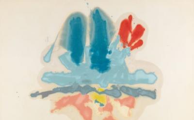 Helen Frankenthaler, Hommage à M.L., 1962 ((© 2014 Helen Frankenthaler Foundatio