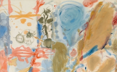 Helen Frankenthaler, Western Dream, 1957, oil on canvas, 70 x 86 inches (© 2013