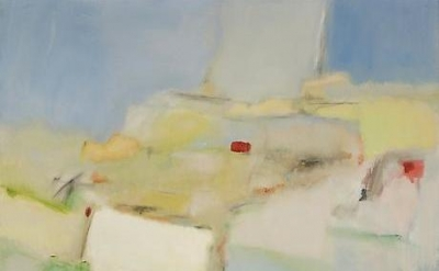 (detail) Jane Freilicher, Untitled Abstraction, c.1960, oil on canvas, 49 x 50 i