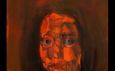 (detail) Barbara Friedman, A Little Girl (After Velazquez), 2012, 14 x 11 inches