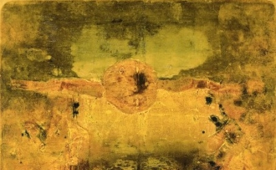 (detail) V.S. Gaitonde, Untitled, 1975 Mr and Mrs Rajiv J Chaudhri Collection, N