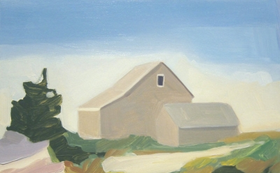Maureen Gallace, Summer House/Dunes, 2009 (courtesy of the artist and 303 Gallery)