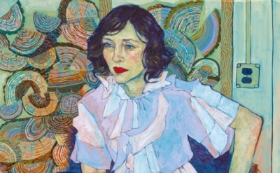 (detail) Hope Gangloff, Vera, 2013, acrylic on canvas, 81 × 54 inches (courtesy