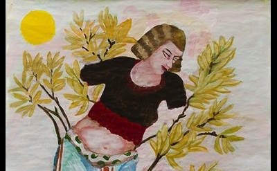 (detail) Charles Garabedian, Giotto's Tree, 2012, Private collection  (courtesy