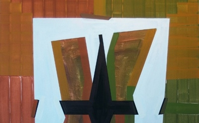 (detail) Gary Stephan, Light Trap, AC/Canvas, 55 x 70 inches, 2011