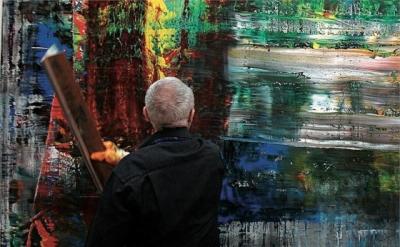 Film Still from Gerhard Richter Painting, © Gerhard-Richter (source: Spread Artc