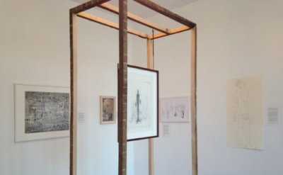 Installation view: (L to R): Francesco Longenecker, Eric Mavko, Alberto Giacomet