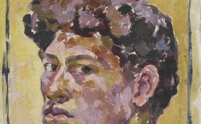 Alberto Giacometti, Small Self Portrait, 1921 (Kunsthaus Zürich, Bequest Bruno G