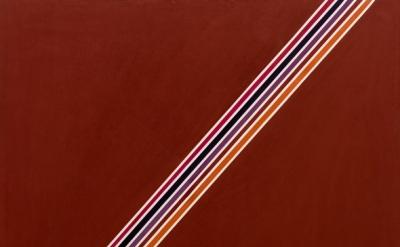 (detail) Sam Gilliam, Theme of Five I, 1965 (courtesy of David Kordansky Gallery