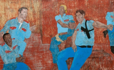 (detail) Leon Golub, The Go-Ahead, 1985–6 (Image © READS 2015, Private Collectio