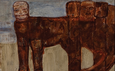 Leon Golub, The Ischian Sphinx 1956 (Collection of Ulrich and Harriet Meyer Art