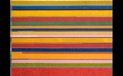 (detail) Gonçalo Ivo, Santa Maria de Taull, 2009, 260 x 650 cm, oil on linen
