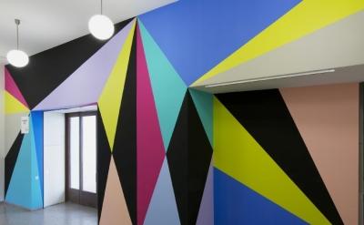 Lothar Götz, Connection, Whitechapel Gallery, London Open, 2015 (photograph by A