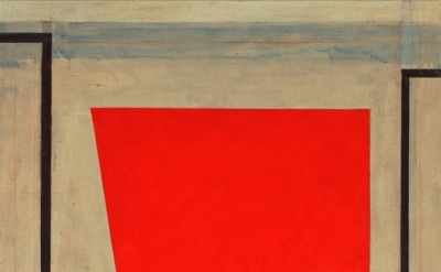 (detail) Elizabeth Gourlay, coquelicot, 2013, pencil and acrylic on canvas, 40 x