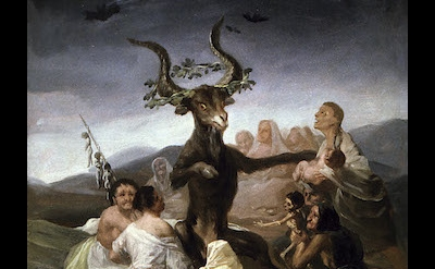 Francisco Goya y Lucientes,Witches' Sabbath, Francisco Goya y Lucientes, 1797–17
