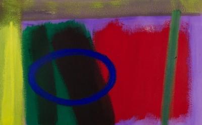 Wilhelmina Barns-Graham, Scorpio Series 3, no.2, 1997, acrylic on paper, 58 x 76