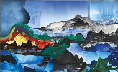 Elliott Green, Human Nature, 2017 (courtesy of Pierogi Gallery)