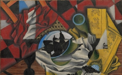 Juan Gris, Pears and Grapes on a Table, Céret, autumn 1913 (Promised Gift from t