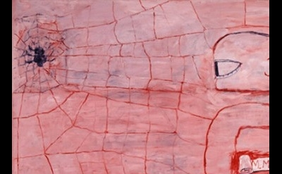 Philip Guston, Signals, 1975, Cincinnati Art Museum, detail