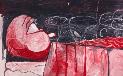 (detail) Philip Guston, Waking Up, 1975 (courtesy of McKee Gallery)