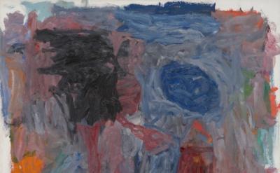 Philip Guston, Alchemist, 1960, oil on canvas, 61 x 67 3/8 inches (Blanton Museu