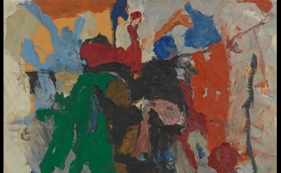 (detail) Philip Guston, Fable II, 1957 (Private Collection, courtesy of Hauser