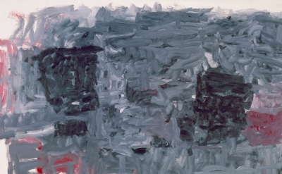 (detail) Philip Guston, The Year, 1964, oil on canvas, 78 x 107 1/2 inches (cour