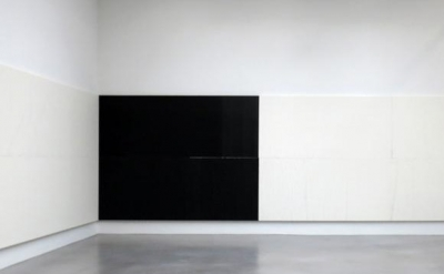 Installation View: Wade Guyton at Petzel Gallery, New York, 2014