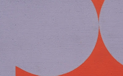 (detail) Marcia Hafif, 60 (Mirror, Mirror I-VI), November 1964, acrylic on canva