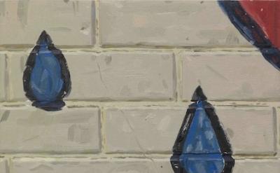 (detail) Josphine Halvorson, Drops, 2012 (courtesy of the artist and Sikkema Jen
