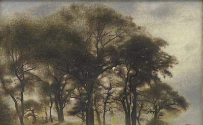 Vilhelm Hammershøi, Near Fortunen, Jægersborg Deer Park, North of Copenhagen, 19