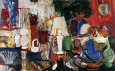 Grace Hartigan, Giftwares, 1955 (Neuberger Museum of Art)