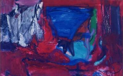 Grace Hartigan, Saint Valentine, 1961, oil on canvas, 84 x 80 inches