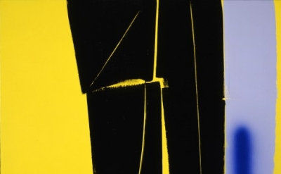 Hans Hartung, T1970-H40, 1970 (courtesy, Foundation Bergman Hartung, France; Tim