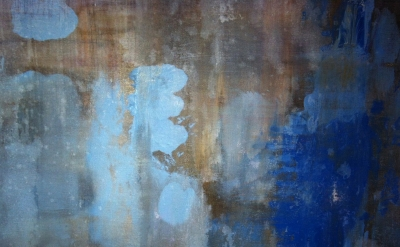 detail of painting by Kylie Heidenheimer (photo: Elisabeth Condon, courtesy of t
