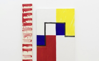 "Installation view: Mary Heilmann and David Reed, ""Two by Two,"" Hamburger Bahnhof"