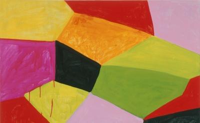 (detail) Mary Heilmann, Primalon Ballroom, 2002, oil on canvas on wood,127 × 101.6cm (© Mary Heilmann, photo: Oren Slor, courtesy of the artist, 303 Gallery, New York, and Hauser & Wirth)