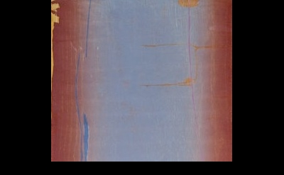 (detail) Helen Frankenthaler, Essence Mulberry, woodcut (courtesy Tyler Graphics