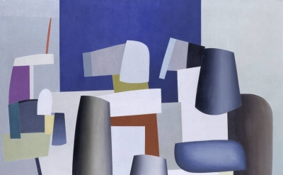 (detail) Jean Hélion, Ile de France, 1935, oil on canvas (Tate, © ADAGP, Paris a
